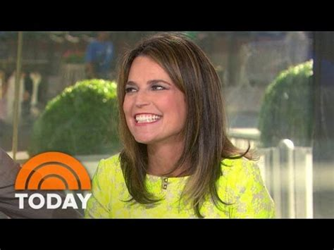 todays savannah guthrie being treated for migraines and seeing today s savannah guthrie reveals she s pregnant and why