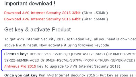 free license key to activate avg anti virus 8 paid avg antivirus pro internet security 2015 free for 1 year