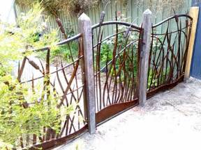 metal garden fence and gate decorative metal