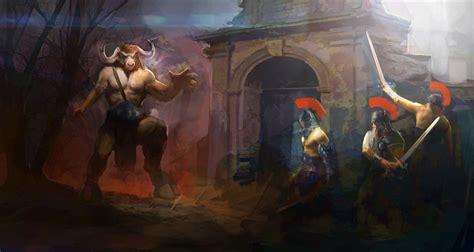 theseus mythology paintings www pixshark