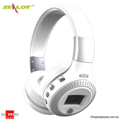 Zealot B19 Wireless Headset Bluetooth Headphone With Tf Fm Radio Zealot B19 Wireless Bluetooth Headset Headphone With Digital Display Stereo Mic Supported Tf