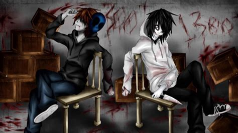 imagenes de jack y jeff eyeless jack x jeff the killer youtube