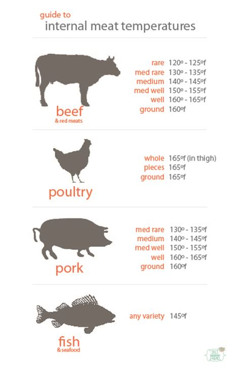 meat temperature guide when are steaks chops chicken share the knownledge