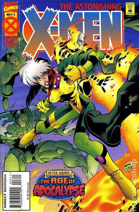 Rogue 1995 1st Series Autographed comic books in age of apocalypse