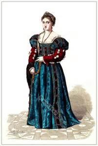Italian renaissance fashion costumes medieval women s dress middle