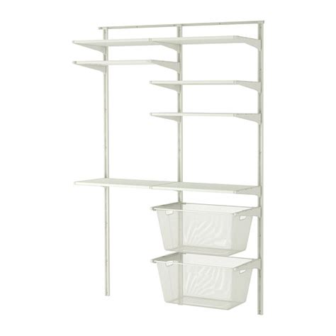 ikea rack algot wall upright shelves drying rack ikea