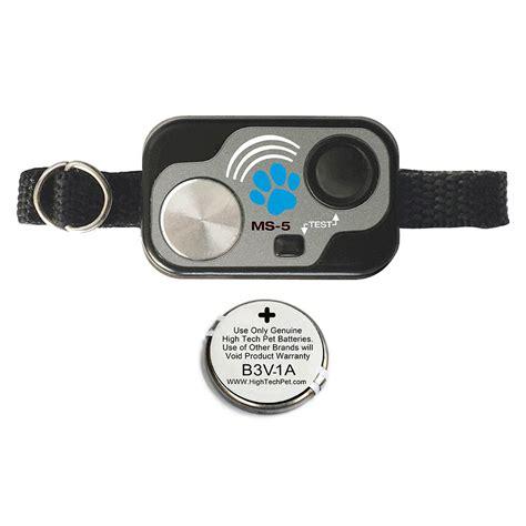 pet tech collar high tech pet electronic water resistant rugged pet collar ms 5 the home depot