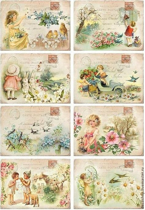 Decoupage Printables - pin by ingrid dekker on vintage decoupage