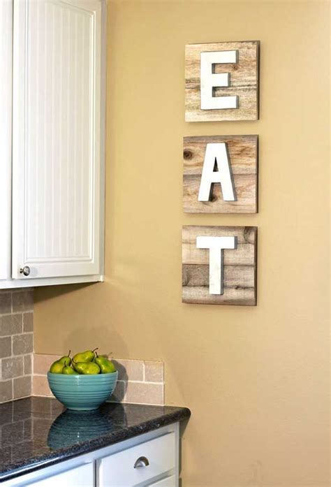 empty kitchen wall ideas 25 best ideas about eat sign on dining room