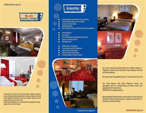 design flyer hotel 29 masculine colorful wireless internet brochure designs