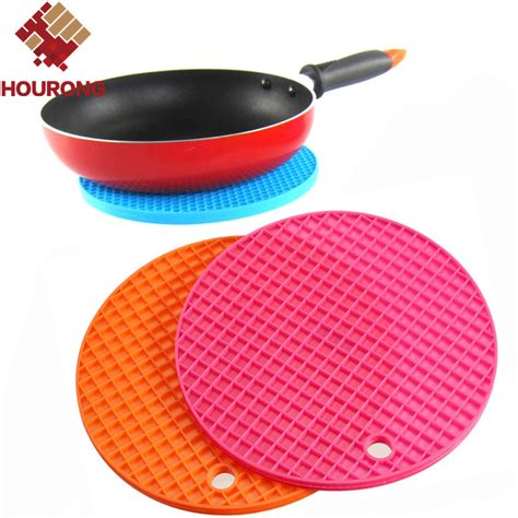 Heat Resistant Mat For Dining Table 1pc Silicone Mat Placemat Non Slip Heat Resistant Dining Table Mat Cup Coaster Posavasos