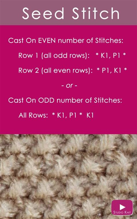 how to do seed stitch knitting best 25 seed stitch ideas on knit stitches