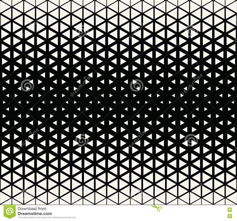 triangle halftone pattern abstract geometric black and white graphic design print