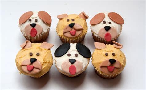 puppy birthday cakes dogs cupcakes