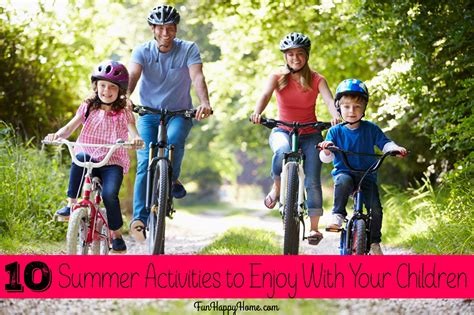 10 Free Activities To Enjoy by Summer Activities Will Schedule Some Family