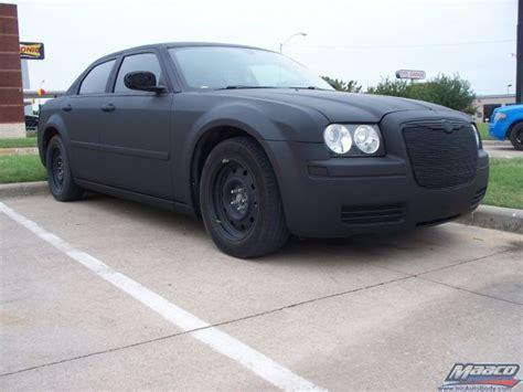 Flat Black Chrysler 300 by Car Photo Gallery Maaco Hulen St