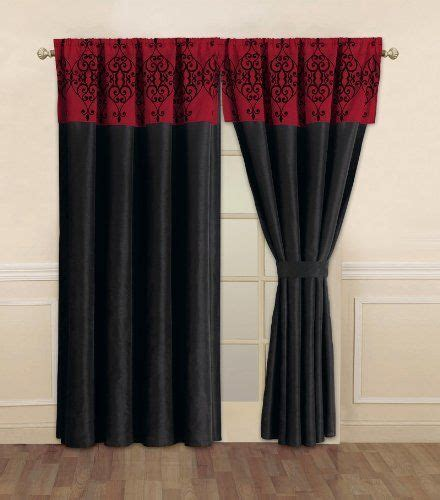 black and red curtains for bedroom 17 best ideas about red curtains on pinterest red bedroom decor gray red bedroom