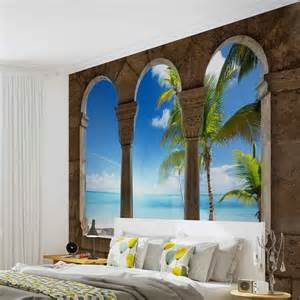 wall murals tropical wall mural photo wallpaper xxl beach tropical 773ws ebay
