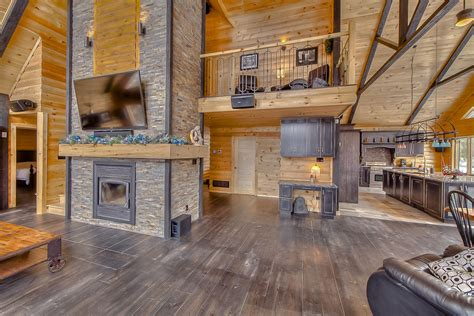 log floor how do you plan on completing the interior of your