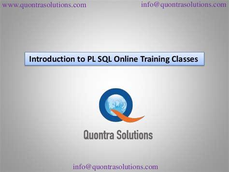 online training sql online training introduction to pl sql online training classes part 2