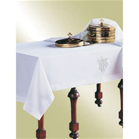communion table cloth ihs churchsupplies