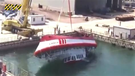 boat r gone wrong 10 ship launch gone wrong youtube