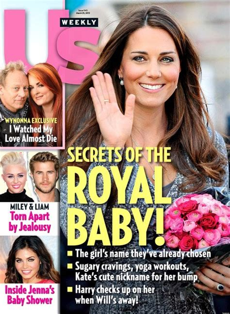 kate middleton us weekly 10 most common words on tabloid covers huffpost