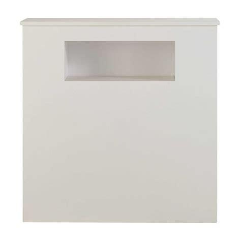 White Bedhead White Wooden Bedhead L 90 Cm Tonic Maisons Du Monde
