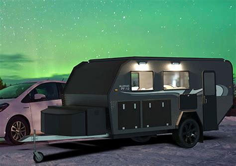 allroad  style ft mobile camping house travel trailer