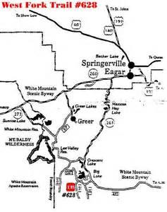 arizona s white mountains west fork trail 628