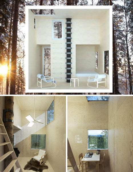 suspended swedish tree hotel reflects natural environment suspended swedish tree hotel reflects natural environment