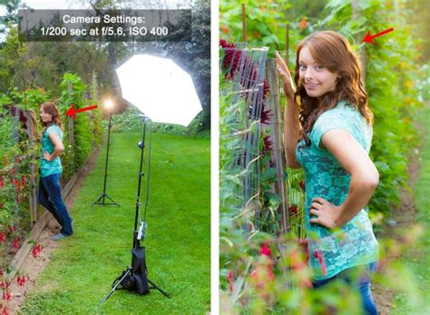 Portrait Photography Lighting Guide Behind The Scenes Outdoor Portrait Photography Lighting