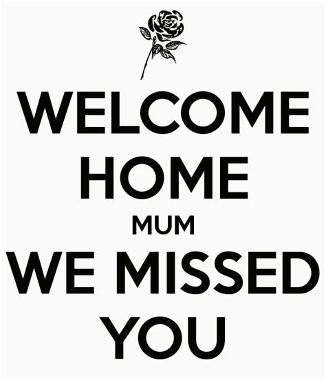 welcome home we missed you poster yusuf keep calm