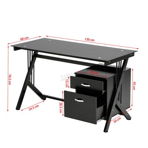 pc tavolo riparo computer scrivania pc tavolo con piano in vetro 2