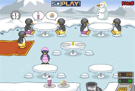 jeux cuisine pingouin jeu de serveuse pingouin pinguin diner