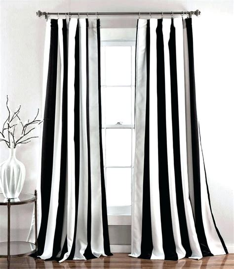 target black and white curtains black and white striped curtains fancy black and white
