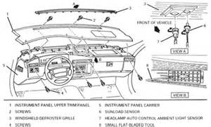 Cadillac Electrical Problems Cadillac Remove Console Questions Answers With Pictures