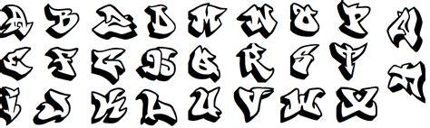 Vorlagen Schrift by Graffiti Schrift Abc Alphabet Alle Buchstaben