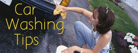 tips  tricks  washing  car  winter