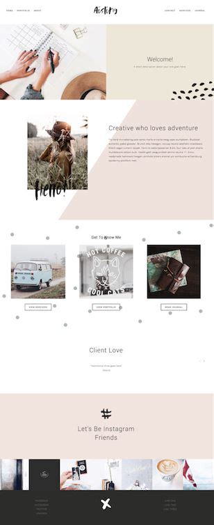 Aisling Squarespace Template Forth And Create Forth And Create Pinterest 디자인 레이아웃 디자인 Create Squarespace Template