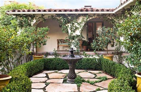 spanish style backyard spanish colonial style architecture dating back to 1933 gives this garden a classic