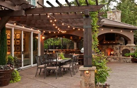 elegant patio backyard landscaping covered patios pictures