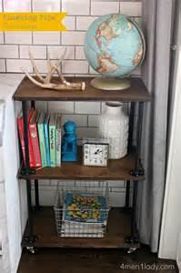 plumbing pipe bookshelves diy plumbing pipe table tutorial