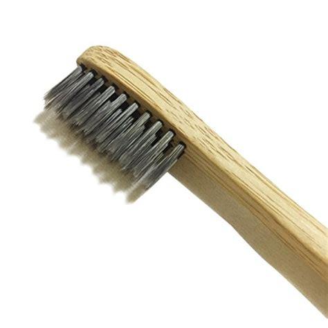 natural toothbrush  bamboo charcoal fibre bristles