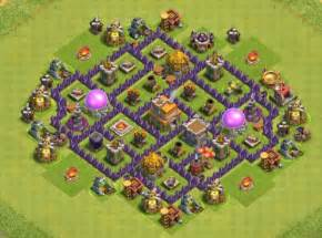 Clash of clans town hall 7 hybrid bases