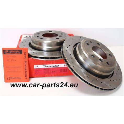 Zimmerman Bmw zimmermann sport rear brake discs bmw e34 300x20mm for bmw