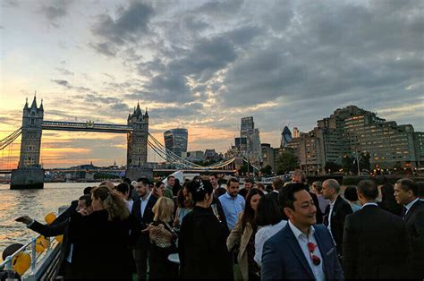 party boat east london kaitlin zhang attends east meets west uk china summer boat
