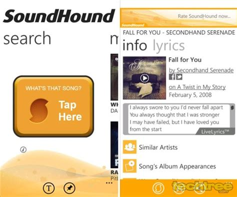 soundhound android soundhound android apps on play newhairstylesformen2014