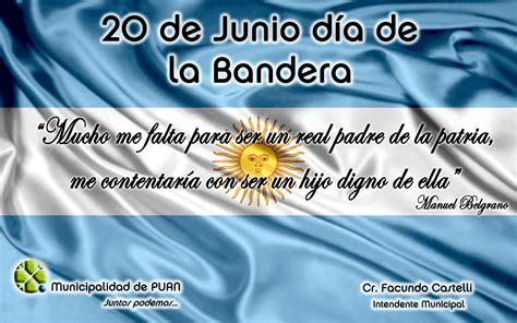 dia de la bandera argentina 20 de junio dia de la bandera mucho me falta para ser un