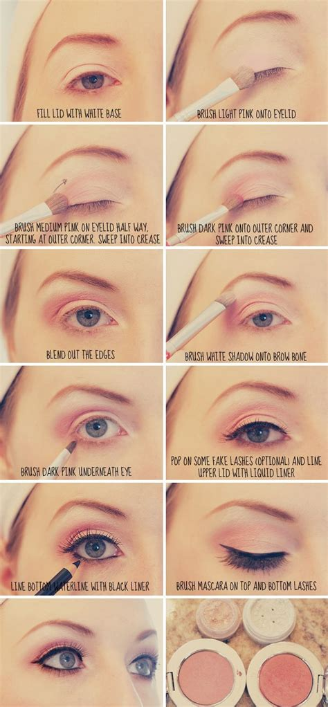 tutorial makeup basic basic eye makeup tutorial style and beauty pinterest